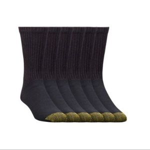 NWT 3pk Men's Gold Toe Cushion Foot Socks
